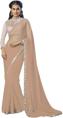 Divy Embriodered Bollywood Georgette Sari