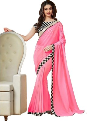 Sapphire Retail Striped Fashion Georgette Sari