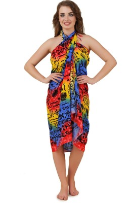 Mojeska Self Design Women,s, Girl's Sarong