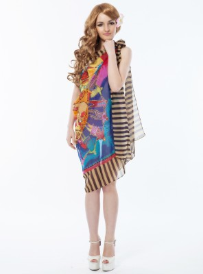 N-Gal Printed Women's Sarong