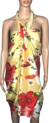 Indian Fashion Guru Floral Print Women's Sarong