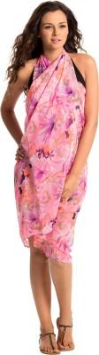 PrettySecrets Floral Print Women's Sarong