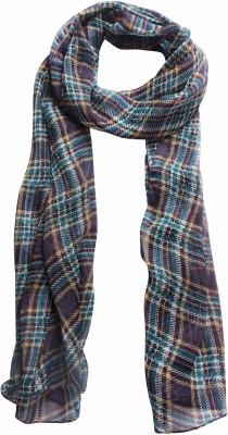 DIVAS CHOICE Checkered polyester Women's Stole