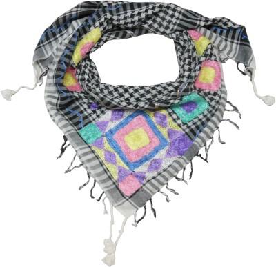 Polipilla Checkered Cotton Women's Scarf