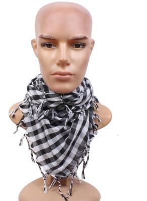 Sushito Self Design Cotton Men's Scarf