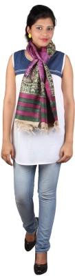 Kaarubaki Printed Tussar Silk Womens Stole