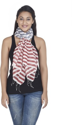 Get Wrapped Printed Nylon -Visocse Women's Scarf