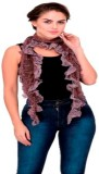 Scarves & Glitters Solid viscose Women's...