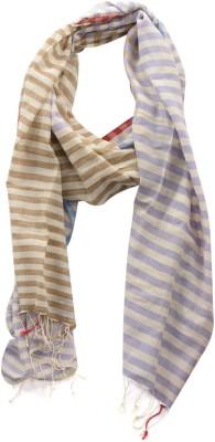 Dushaalaa Striped Coton Womens Scarf