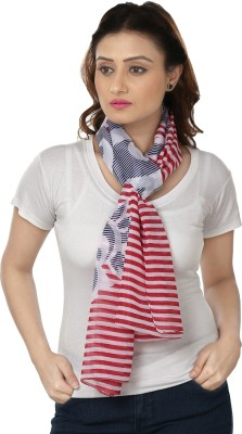 Insyync Striped Polyester Women,s, Girl's Scarf