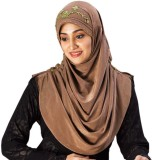 Parvin Solid Soft Polyester Women's Scar...