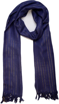 Add To Style Striped Viscose Women's Scarf