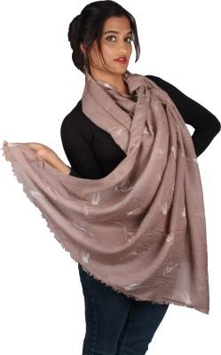 True Fashion Animal Print Pure Wool Women's Scarf