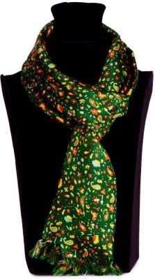 The Vatican Floral Print Silk Men's Scarf