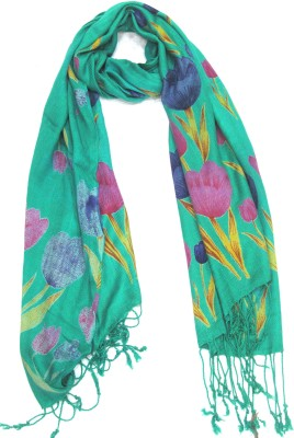Malhotra & Sons Floral Print Viscose Women's Stole