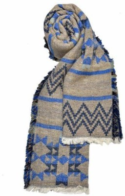 STUDIOB40 Self Design Blend of cotton,wool and Nylon Women's Stole