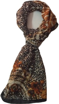 Cherry Berry Printed polyster Womens Stole