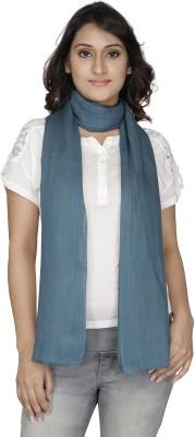 Anekaant Solid Viscose Linen Womens Stole