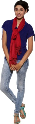 Covetindia Solid Rayon Womens Stole