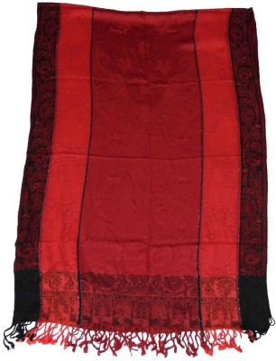 Vrinde Self Design Wool Women's Stole