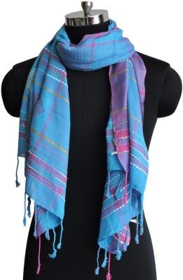 Weavers Villa Cotton Woven Women's Shawl
