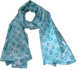 Aummade Animal Print Cotton Girls Scarf
