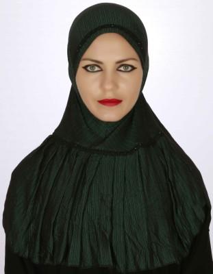 Islamic Attire Striped Platinum Women's Scarf
