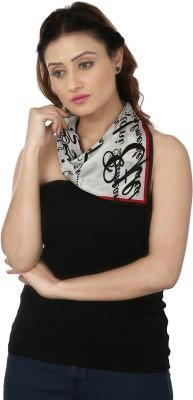 Insyync Printed Silk Women,s, Girl's Scarf