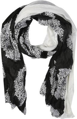 Holidae Floral Print Poly Georgette Women's Scarf