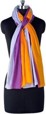 Tiara Solid Cotton Women's Stole