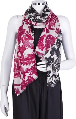 Insyync Floral Print Modal Women,s, Girl's Scarf