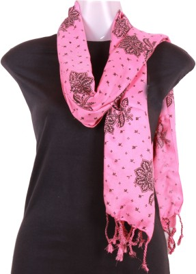 Sushito Self Design Cotton Women's Scarf