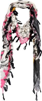 Crunchy Fashion Floral Print Cotton Women,s Scarf