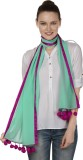 InSyync Solid Cotton Women's Scarf