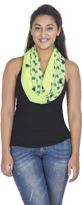 Get Wrapped Polka Print Polyester Women's Scarf