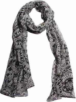 DIVAS CHOICE Graphic Print polyester Women's Stole