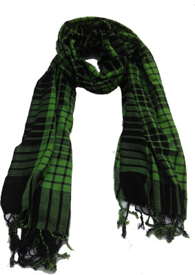 Lotusa Checkered viscose Men's Scarf