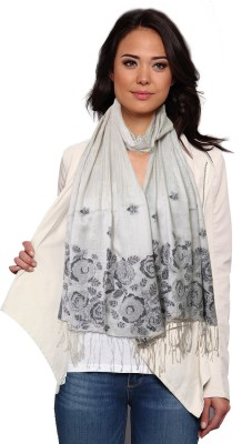 Super Drool Embellished Pure Silk Women's Scarf