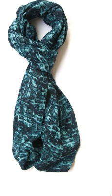 Niv Collection Self Design Viscose Square Dobby Girl,s, Women's Scarf