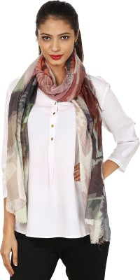 Glam Tree Printed 100% Wool Women,s, Girl's Stole