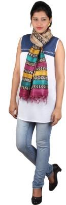 Kaarubaki Printed Tussar Silk Women's Stole