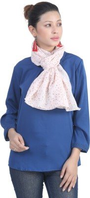 BrownBird Solid Cotton Silk Women's Stole