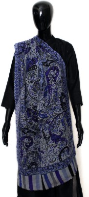 STV Floral Print Wool Women's Scarf