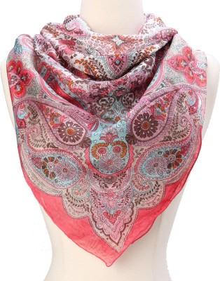 Textures Fashion Printed Silk Women,s Scarf