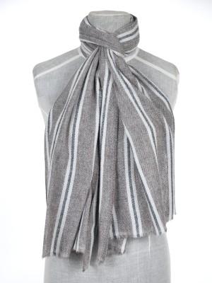 Shawl Art Self Design Wool Women's Stole