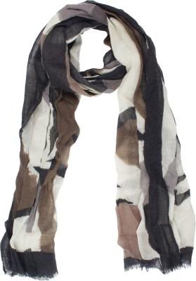 Amaryllis Graphic Print Wool Women's Scarf