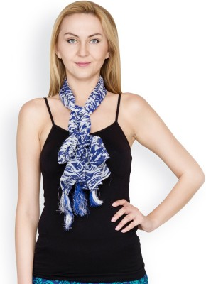 Famous by Payal Kapoor Graphic Print Georgette Women's Scarf