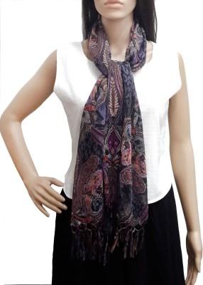 Lifestyle Retail Printed Cotton Women's Scarf