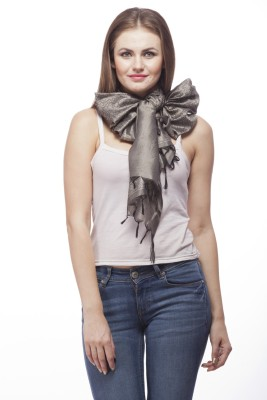 Bumpkin Self Design Art Silk Women's Scarf
