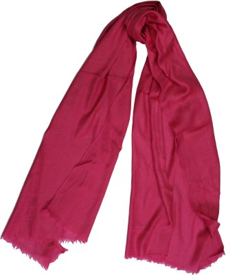 Shawls of India Solid WOOL, Viscose Women's Stole